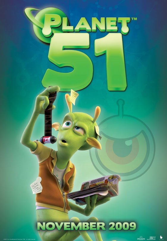 Planet 51 Poster #15