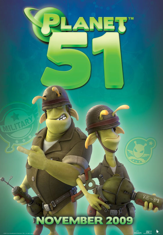 Planet 51 Poster #16