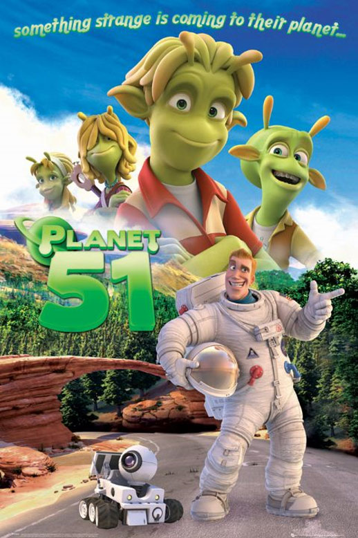 Planet 51 Poster #17