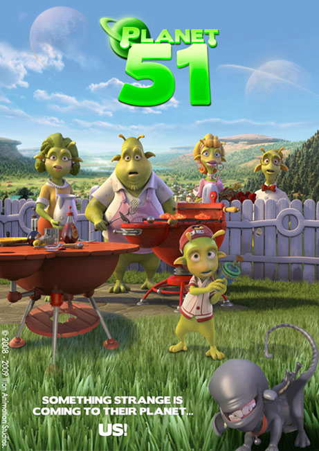 Planet 51 Poster #2