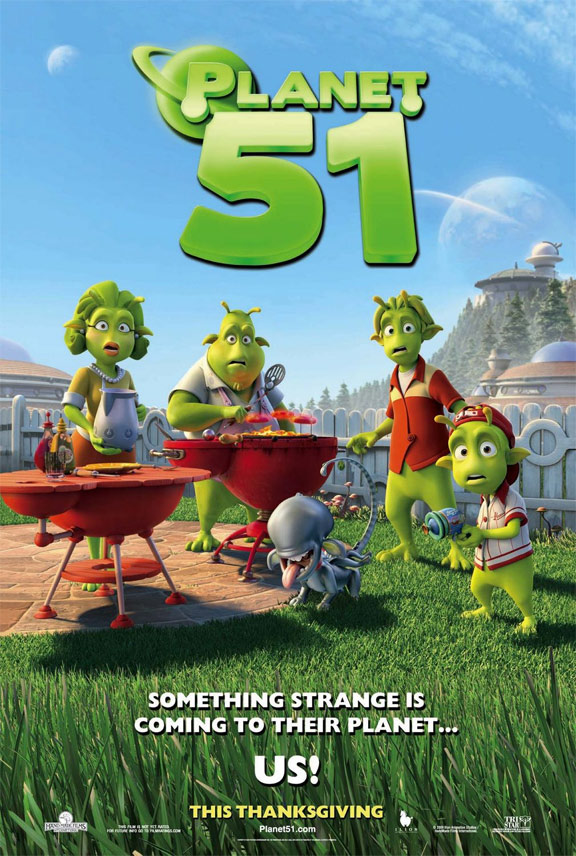 Planet 51 Poster #3