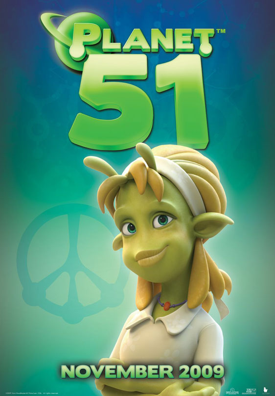 Planet 51 Poster #8