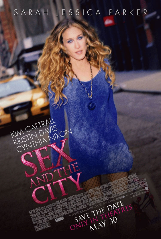 Sex and the City: The Movie Poster #4