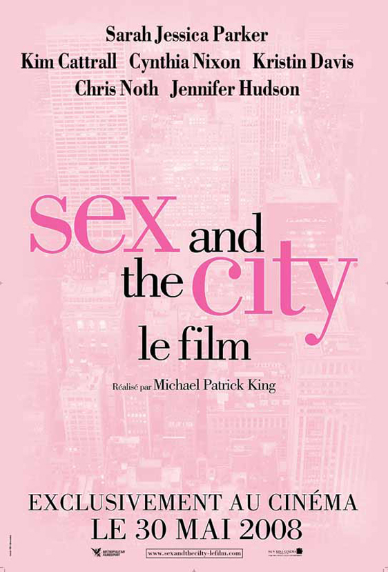 Sex and the City: The Movie Poster #5