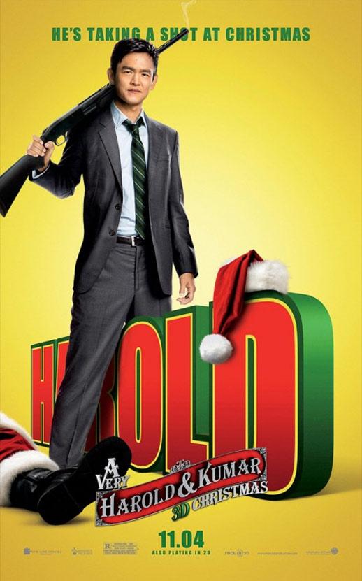 A Very Harold & Kumar Christmas Poster #3