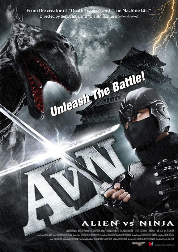 Alien vs Ninja Poster #2