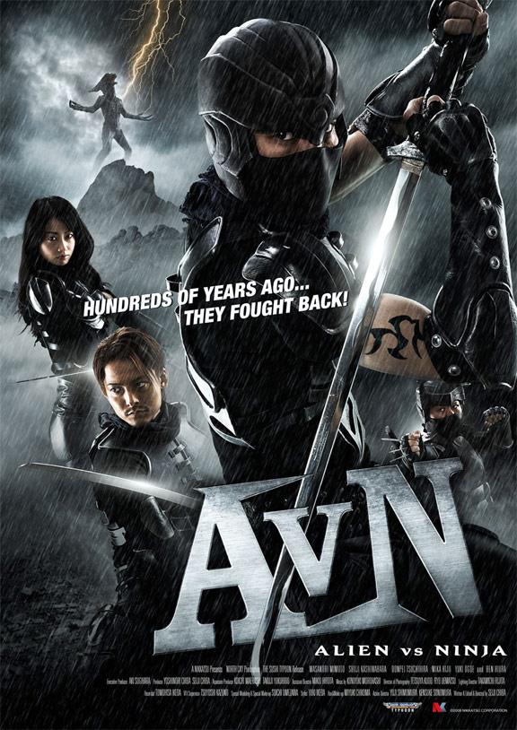 Alien vs Ninja Poster
