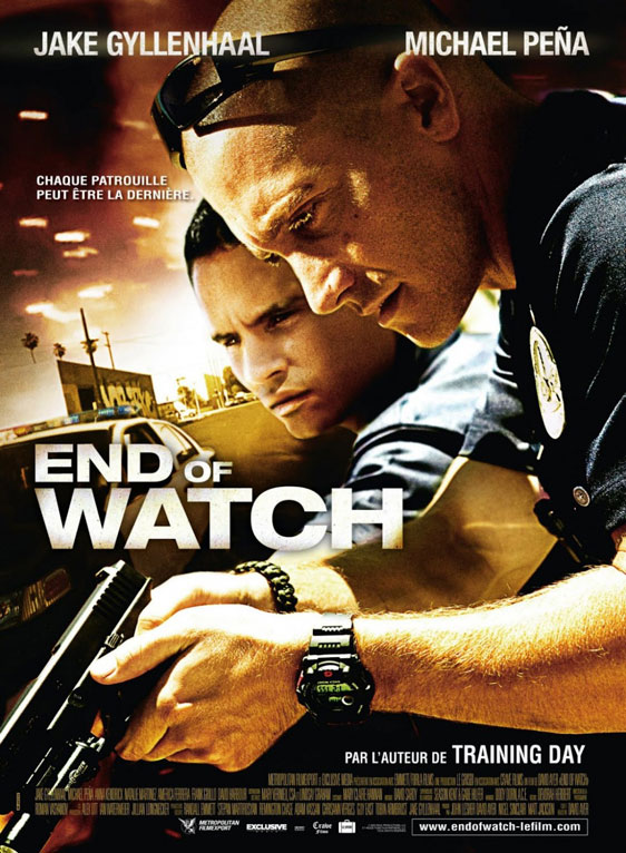 End of Watch Poster #4