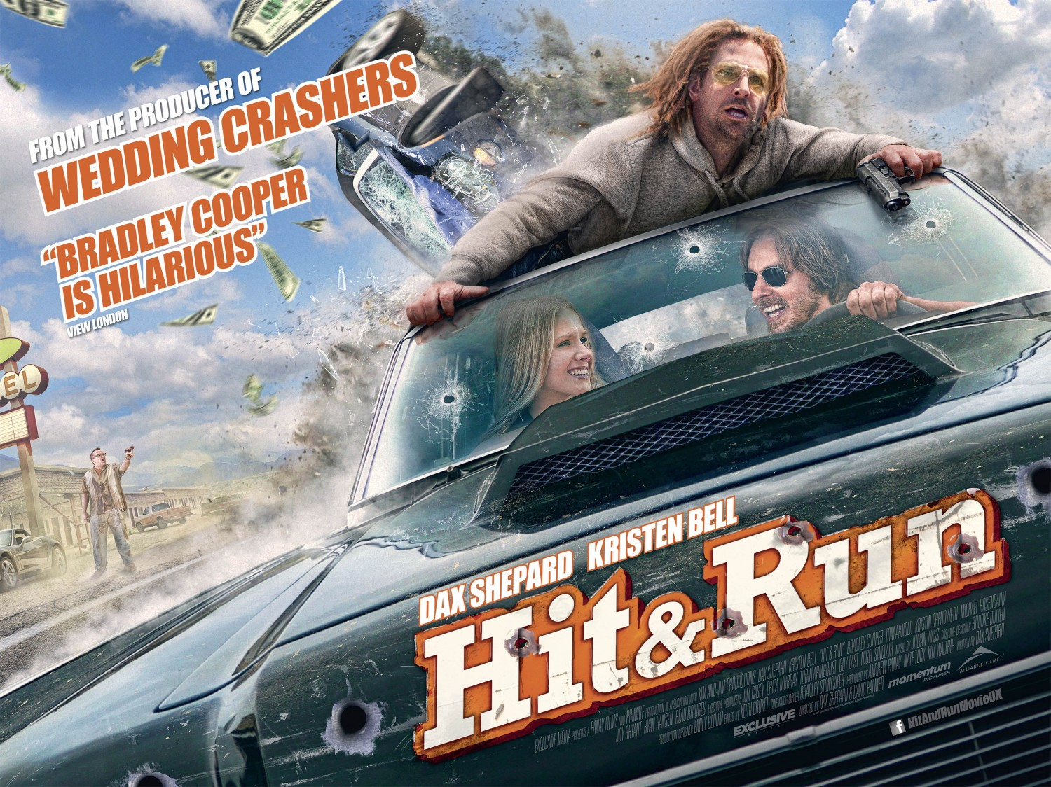 Hit and Run Poster #4