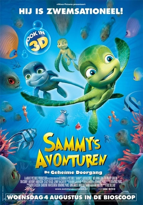 A Turtle's Tale: Sammy's Adventures Poster #1