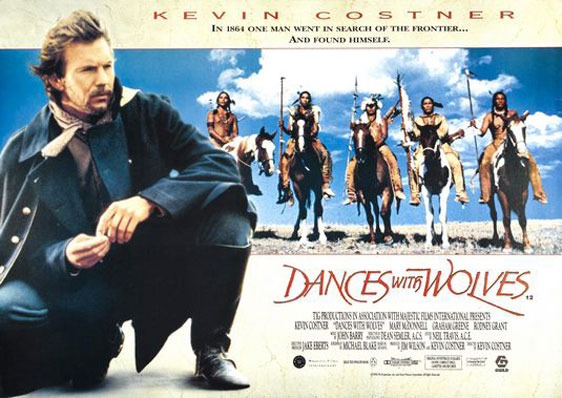 Dances With Wolves Poster #4