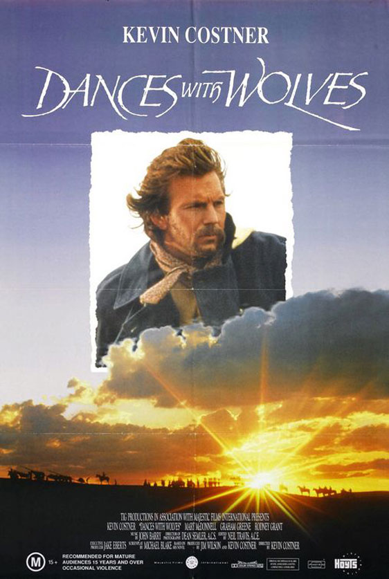 Dances With Wolves Poster #8