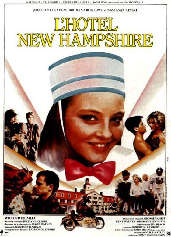 The Hotel New Hampshire Poster #2