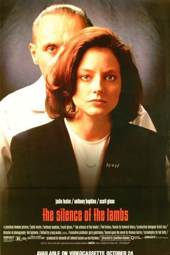 The Silence of the Lambs Poster #4