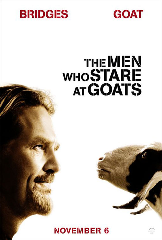 The Men Who Stare at Goats Poster #2