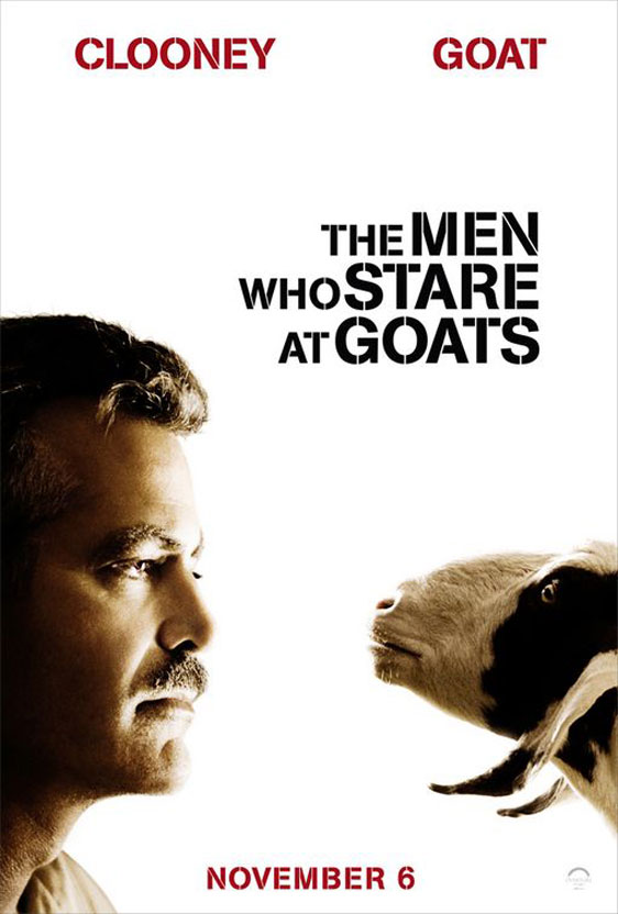 The Men Who Stare at Goats Poster #3