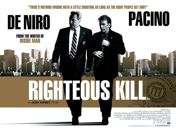 Righteous Kill Poster #5