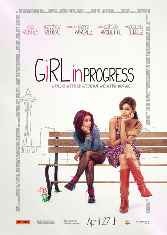 Girl in Progress Poster #1