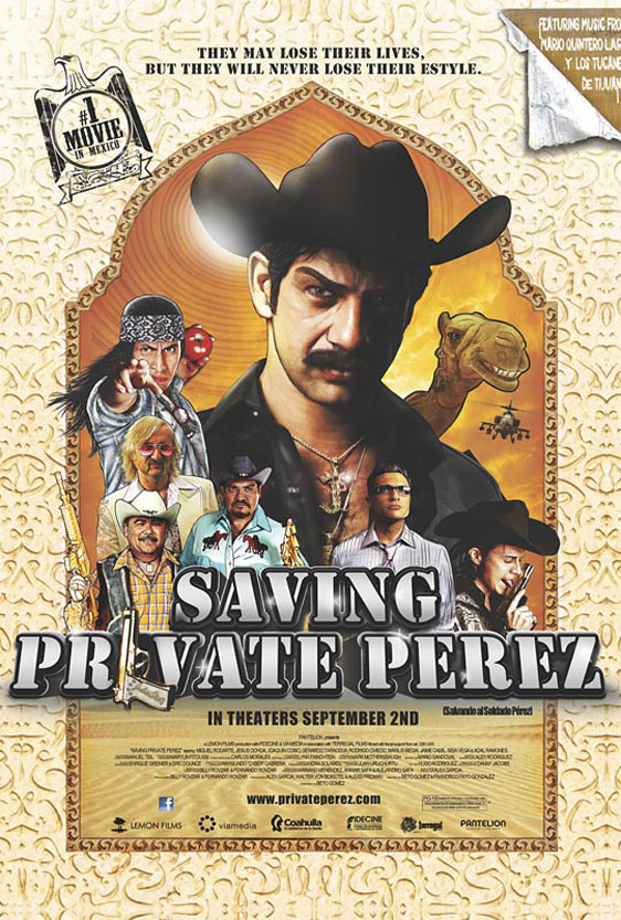 Saving Private Perez Poster