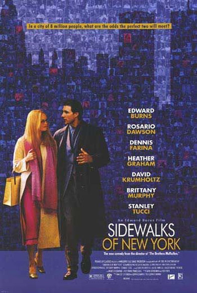 Sidewalks of New York Poster