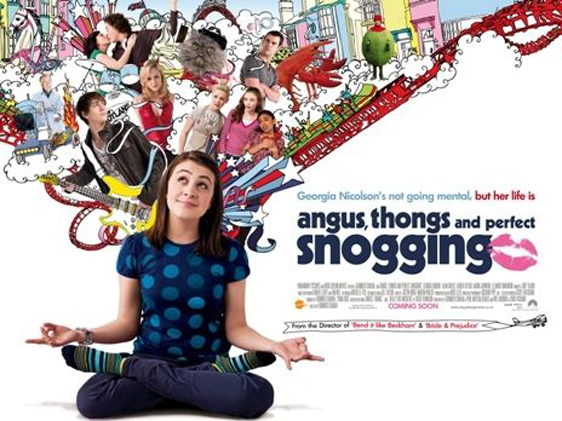 Angus, Thongs and Full-Frontal Snogging Poster