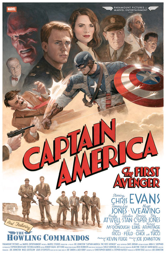 Captain America: The First Avenger Poster #2