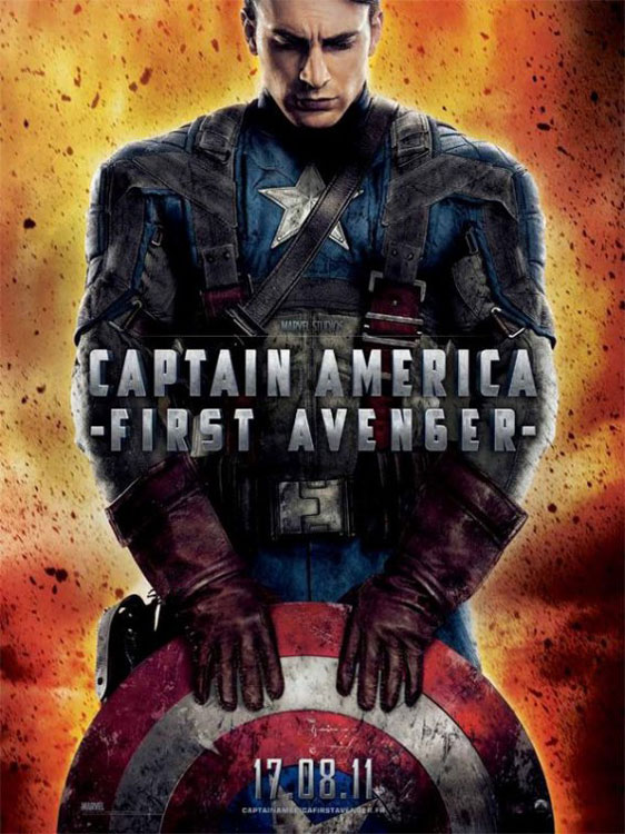 Captain America: The First Avenger Poster #6