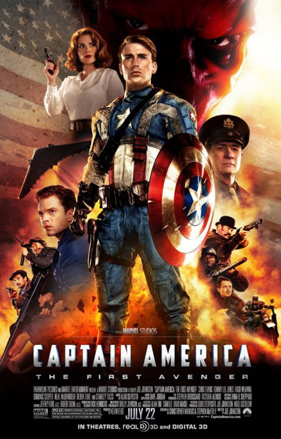 Captain America: The First Avenger Poster #7