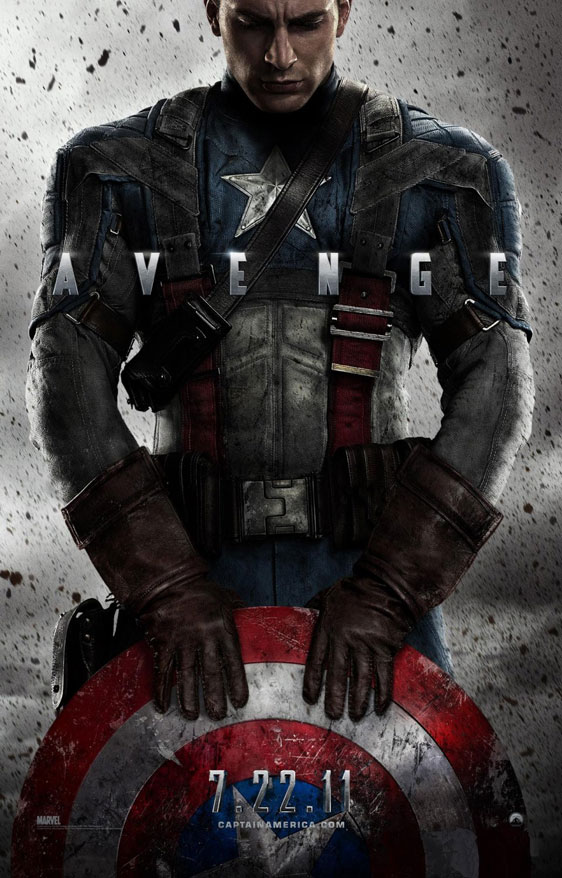 Captain America: The First Avenger Poster #1