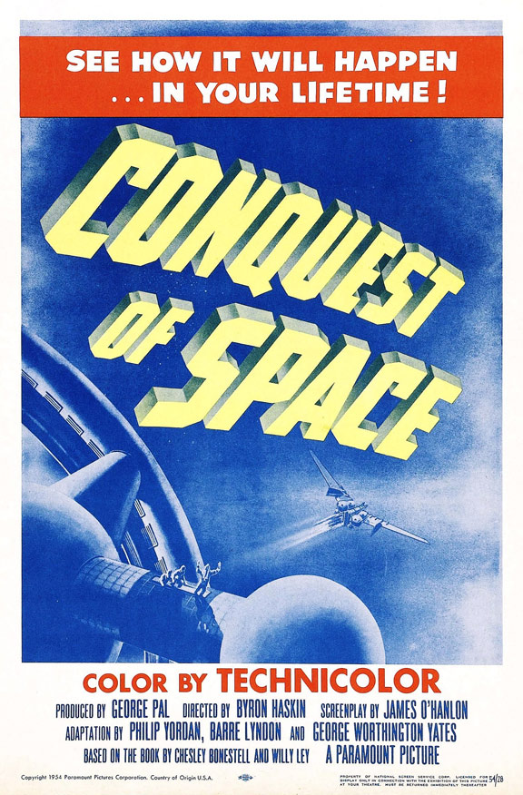 Conquest of Space Poster #2