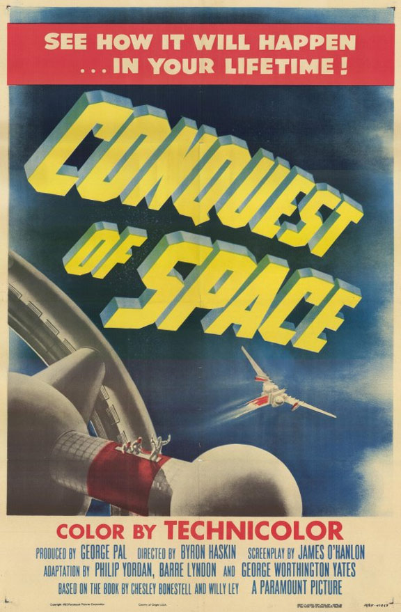 Conquest of Space Poster #1
