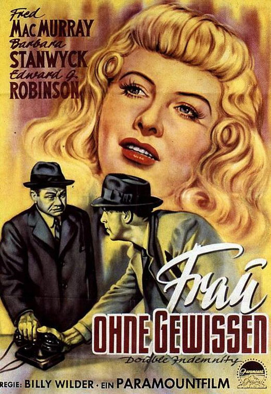 Double Indemnity Poster #3