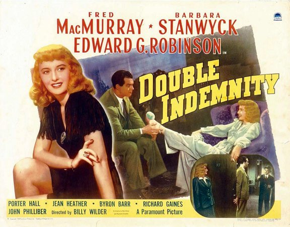Double Indemnity Poster #4