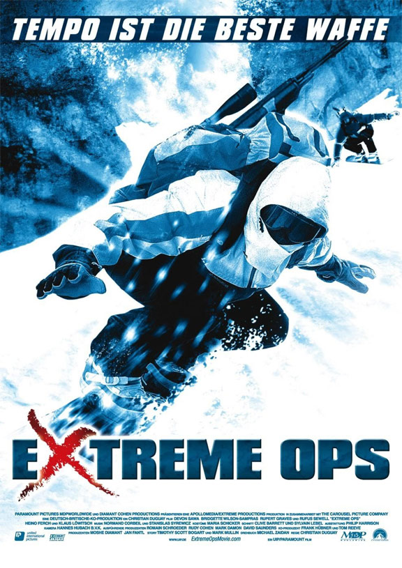 Extreme Ops Poster #2