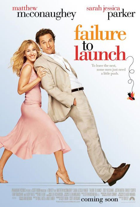 Failure to Launch Poster #1