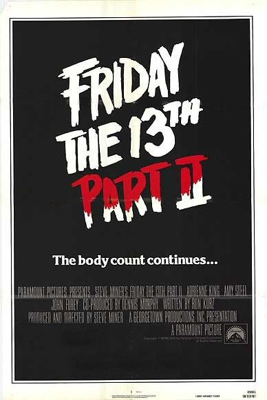 Friday the 13th Part 2 Poster #1
