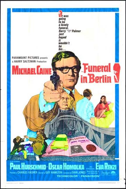 Funeral in Berlin Poster #1