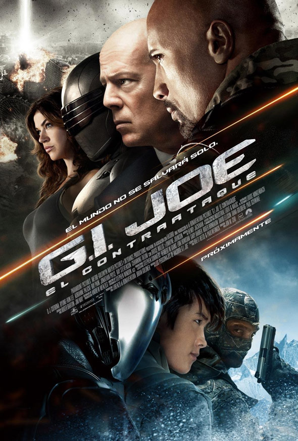 G.I. Joe 2: Retaliation Poster #13
