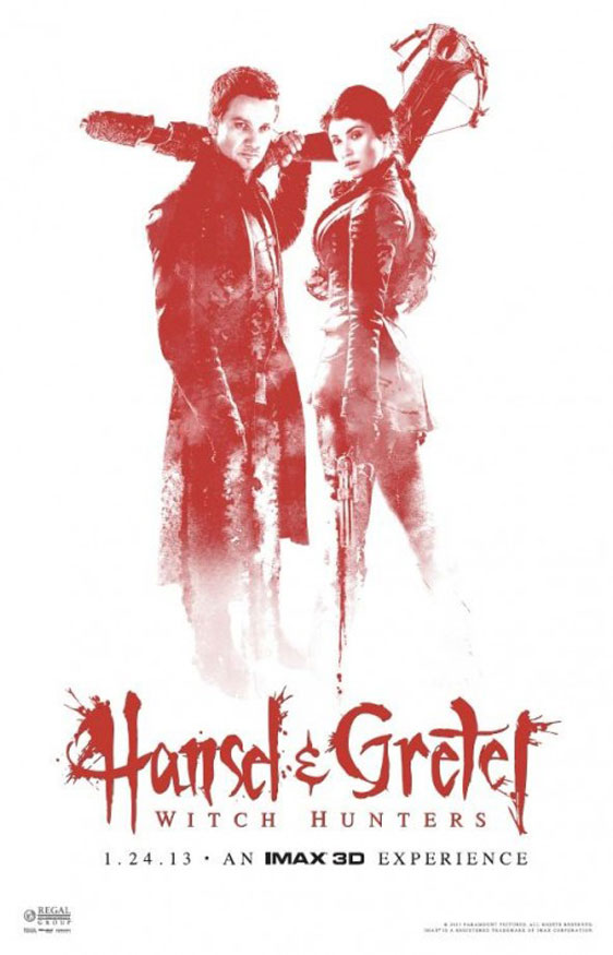 Hansel & Gretel: Witch Hunters Poster #5