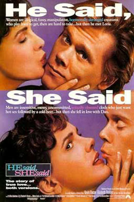 He Said, She Said Poster #1