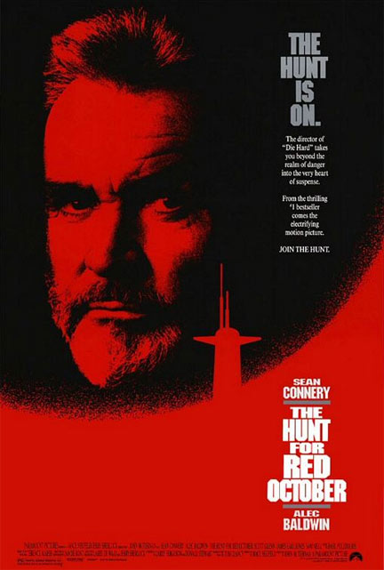 The Hunt for Red October Poster #1