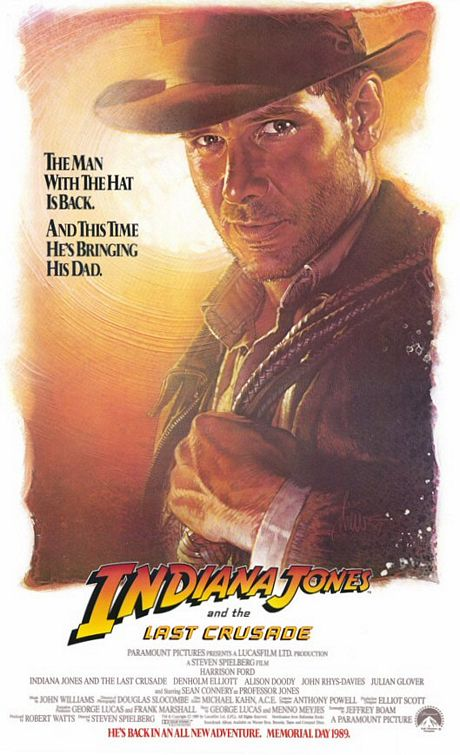 Indiana Jones and the Last Crusade Poster #1
