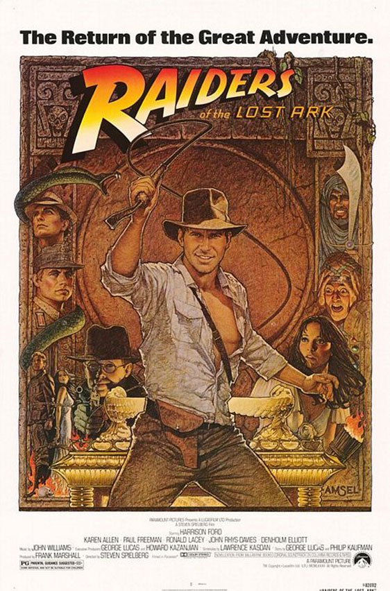 Indiana Jones and the Raiders of the Lost Ark Poster #2