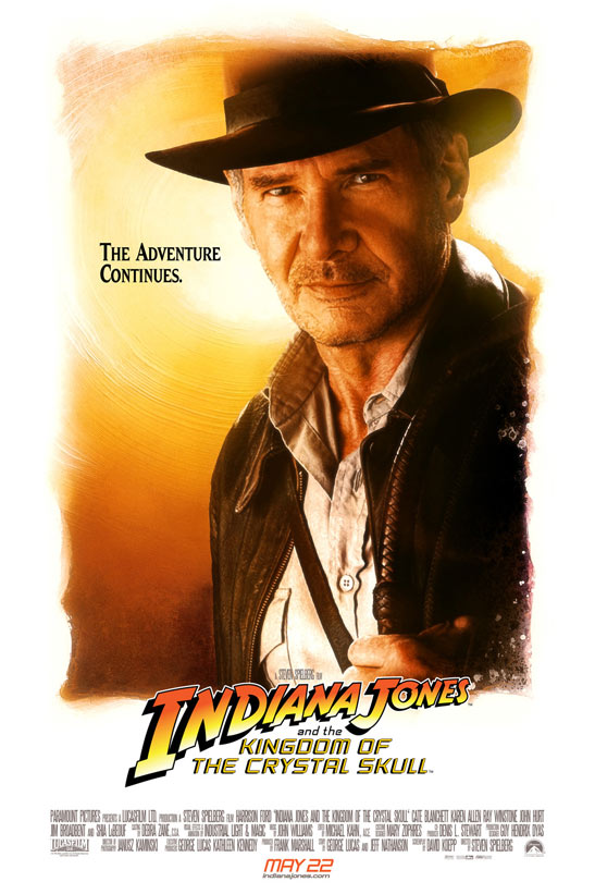 Indiana Jones and the Kingdom of the Crystal Skull Poster #3
