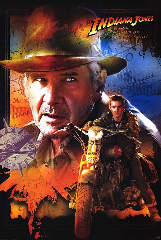 Indiana Jones and the Kingdom of the Crystal Skull Poster #7