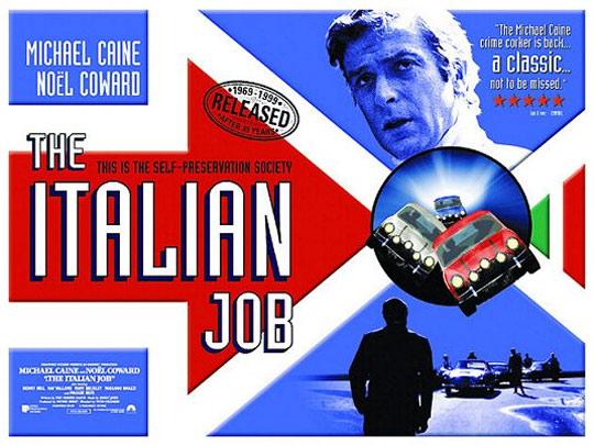 The Italian Job Poster #2