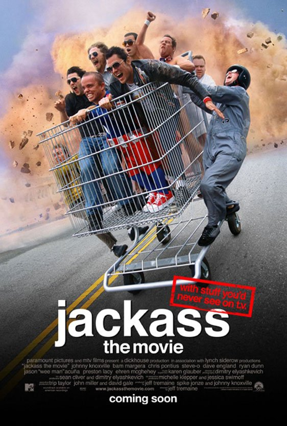 Jackass: The Movie Poster #1