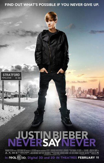Justin Bieber: Never Say Never Poster #3