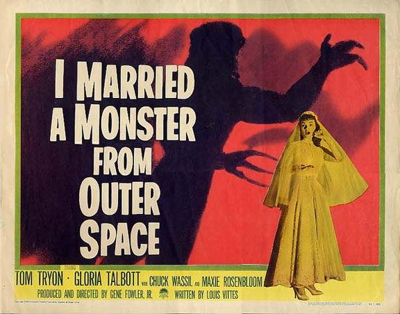 I Married a Monster from Outer Space Poster #3