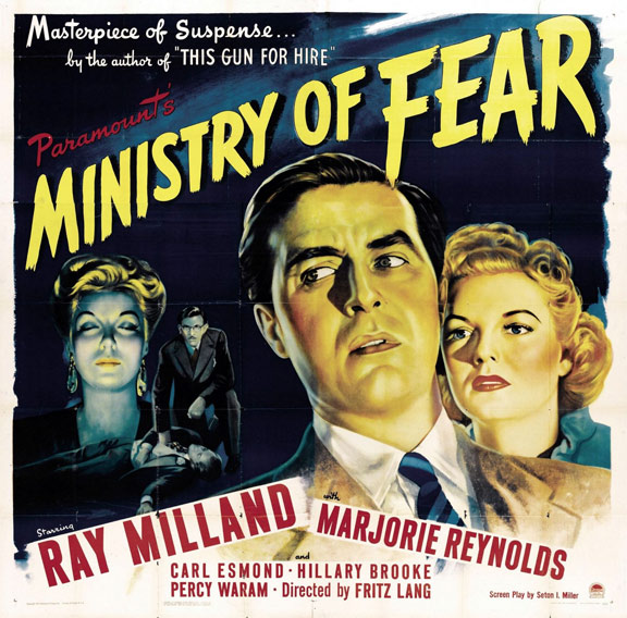 Ministry of Fear Poster #2